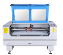 GS-1290 Double Heads CO2 Laser Engraving and Cutting Machine
